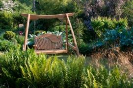 Gently Sloping Garden